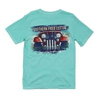 Jeepin' On the Coast Tee in Mason Jar by Southern Fried Cotton