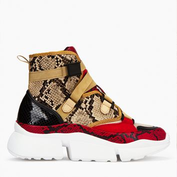 HIGH LIFE SNAKE WEDGE SNEAKER