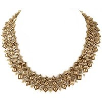 House of Harlow 1960 Jewelry Kraals Statement Necklace