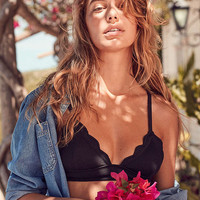 Out From Under Chloe Scallop Bikini Top