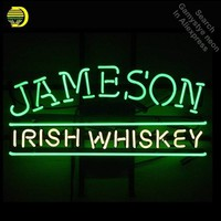 Neon Sign Jameson Irish Whiskey neon Light Sign Beer Bar Pub Sign Custom Design Handcrafted Hotel Garage Neon signs for sale