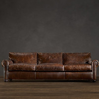 Lancaster Leather Sleeper Sofas