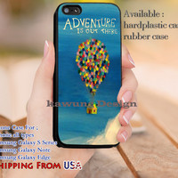 Adventure is Out There Up Quotes iPhone 6s 6 6s+ 5c 5s Cases Samsung Galaxy s5 s6 Edge+ NOTE 5 4 3 #cartoon #disney #animated #up dl13