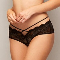 Sexy Lace Cheeky Panty Fleurt Velvet Crush