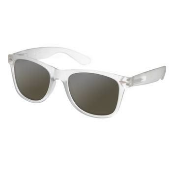 ASOS Matte Finish Retro Sunglasses - Gray