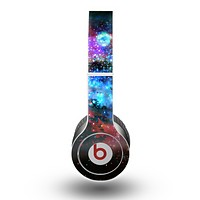 The Neon Colored Paint Universe Skin for the Beats by Dre Original Solo-Solo HD Headphones