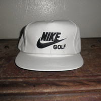 ORIGINAL 1980's Deadstock Nike Golf Cap in PERFECT Condition