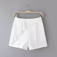 Summer Stylish High Rise Slim Pants Dress Shorts [4917819588]