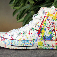 Canvas shoes punk