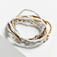 Beaded Bracelet Set | Urban Outfitters