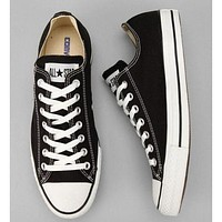 Converse Fashion Canvas Flats Sneakers Sport Shoes Black