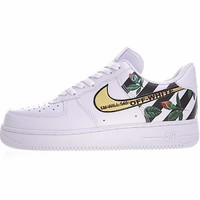 Virgil Abloh Off White x Nike Air Force 1 Low Sneaker ¡°OW¡±315122-111