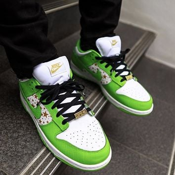 Nike SB Dunk Low STARS Men's and Women's Sneakers Shoes