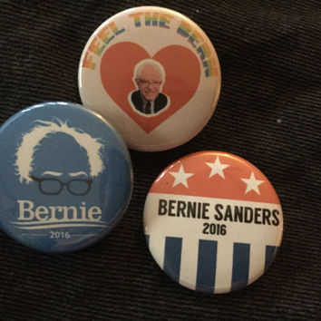 Bernie Sanders Button Set