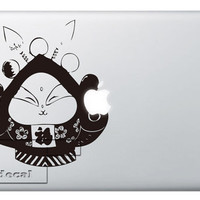 Rabbit God- means lucky Decal laptop MacBook pro decal MacBook decal MacBook air sticker 058