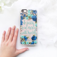 Meaningful iPhone 6s & 6s Plus Case (Micah 6:8 Pattern) by Casetify