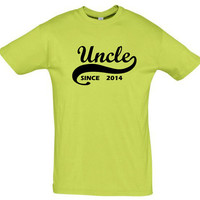 Uncle since 2014 (Any Year),gift ideas,gift for boyfriend,gift for him gift for men,humor shirts,humor tees,gift for brother,