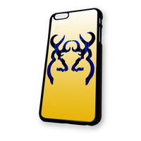 Yellow Deer Hunting Girly iPhone 6 Plus case