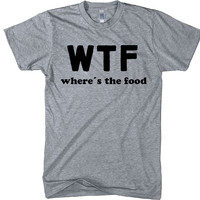 wtf where´s the food t-shirt