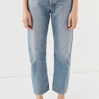 AGOLDE '90s Straight-Leg Ripped Jean – Reunion | Urban Outfitters