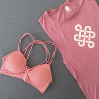 Strappy Bra ~ Peachy
