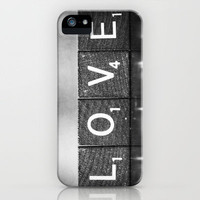 Love is a Beautiful Word - a fine art photograph iPhone Case by Amelia Kay Photography | Society6