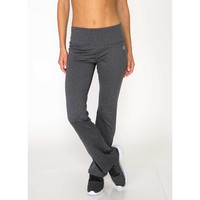 RBX Active Striated Fleece Back Bootcut Leggings