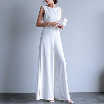 Gladys Chic High-Neck Jumpsuit