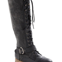 Creeks and Streams Boot in Crow | Mod Retro Vintage Boots | ModCloth.com