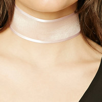 Sheer Satin Choker