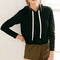 Project Social T Easy Hooded Top- Black