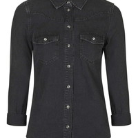 MOTO Fitted Western Shirt - New In This Week - New In