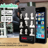 Cool Magcon Boys Collage Case for iPhone 4/4S/5/5S/5C, iPod Touch 5, and Samsung Galaxy S3/S4/S5/Note 3