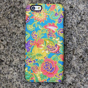 Floral Persian iPhone XR case iPhone XS Max plus Case Flowers iPhone 8 SE  Case Blue Galaxy S8 S6  Note 3 Case 048