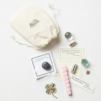 Lucky Treasures Pouch by Anthropologie Neutral Motif One Size Gifts