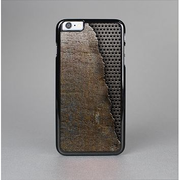 The Rustic Peeled Metal Skin-Sert Case for the Apple iPhone 6