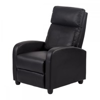 Recliner Chair Modern Leather Chaise Couch Single Accent Recliner Chair Sofa 87