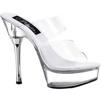 Allure 5.5 Clear Heel Stiletto