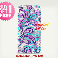 Flower Paisley Clear Tpu iPhone Case , Clear iPhone 6s Case , Clear iPhone 6 Case , Clear iPhone 5 Case  iPhone 6s Case , Clear iPhone Cases