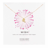 Dogeared Gold Wish Snake Necklace