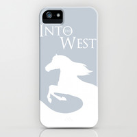 Into the West iPhone & iPod Case by Citron Vert | Society6