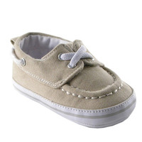 Luvable Friends Boy's Slip-on Shoe for Baby, Beige | Affordable Infant Clothing