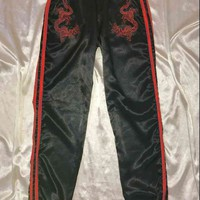 SWEET LORD O'MIGHTY! DRAGON TRACKIEZ IN BLACK SILK