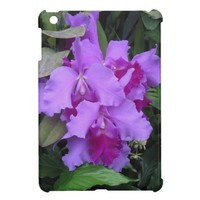 Purple Catleya Orchids iPad Mini Covers from Zazzle.com