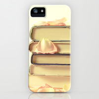 She Wrote Stories and Kept Them Quietly in Her Heart iPhone & iPod Case by Olivia Joy StClaire