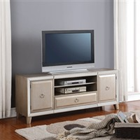 Voeville 72 Inch TV Console in Antique Gold Finish by Acme - 91203