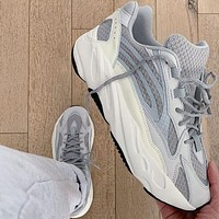 ADIDAS yeezy 700 v2 hot sale color matching men and women basketball shoes sports sneakers
