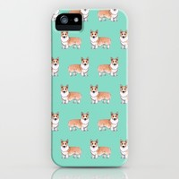 Corgi dog iPhone & iPod Case by Savousepate