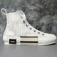 Dior High-Top Sneaker Sneakers Transparent Plastic Skate Shoes Women Men Shoes