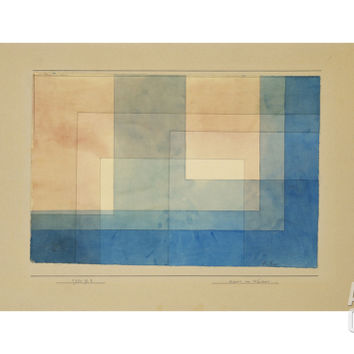 House by the Water Giclee Print by Paul Klee at Art.com